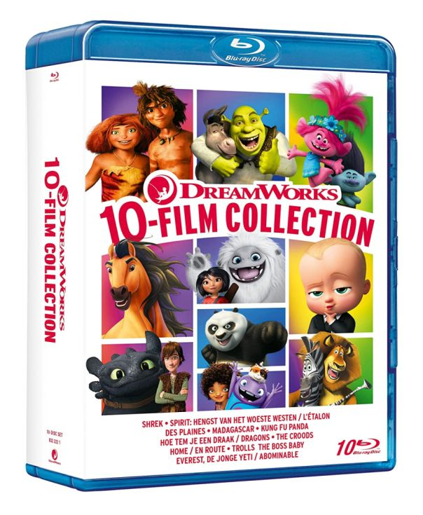 DREAMWORKS COLLECTION: 10 Film in Blu-Ray